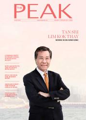 Cover Majalah THE PEAK Hongkong Januari 2017