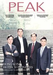 THE PEAK Hongkong Magazine Cover November 2017