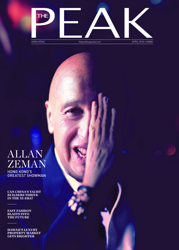 Majalah Digital THE PEAK Hongkong April 2018