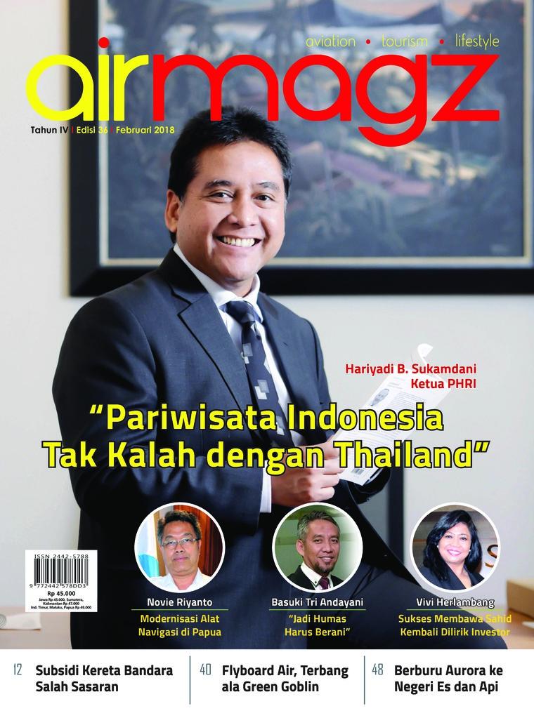Majalah Digital AIRMAGZ ED 36 Februari 2018