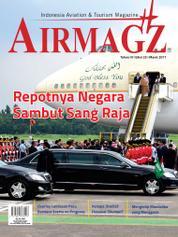 Cover Majalah AIRMAGZ ED 25 Maret 2017