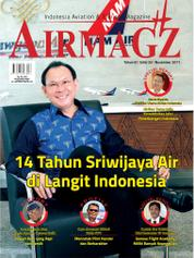 Cover Majalah AIRMAGZ ED 33 November 2017