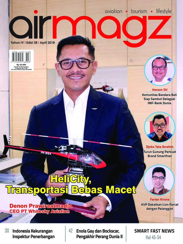 Majalah Digital AIRMAGZ ED 38 April 2018