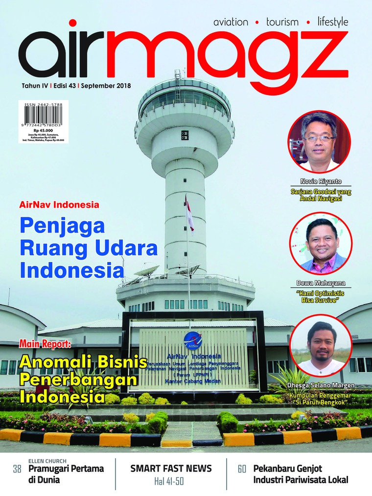 Majalah Digital AIRMAGZ ED 43 September 2018