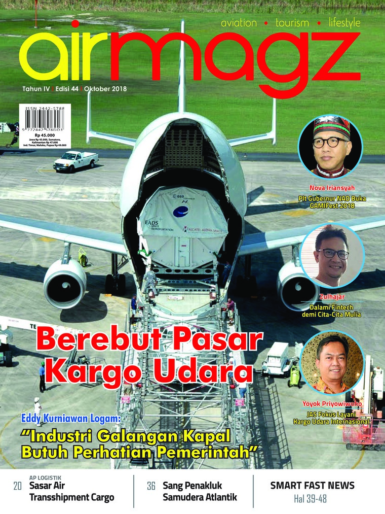 Majalah Digital AIRMAGZ ED 44 Oktober 2018