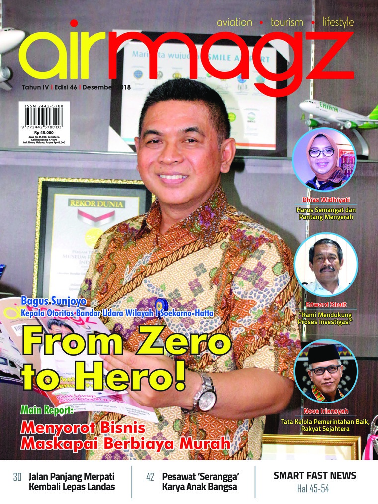 AIRMAGZ Digital Magazine ED 46 December 2018
