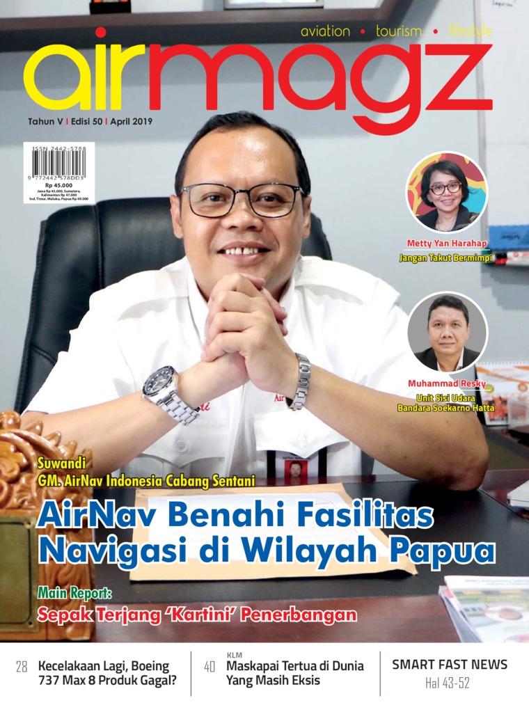 Majalah Digital AIRMAGZ ED 50 April 2019