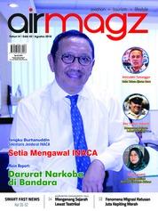 Cover Majalah AIRMAGZ ED 42 Agustus 2018