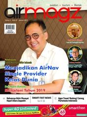 Cover Majalah AIRMAGZ ED 47 Januari 2019