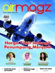 Cover Majalah AIRMAGZ ED 48 Februari 2019