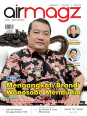 Cover Majalah AIRMAGZ ED 51 Mei 2019