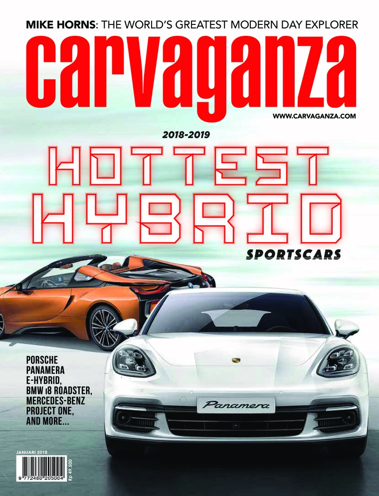Carvaganza Digital Magazine January 2018