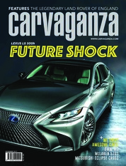 Carvaganza Magazine Cover December 2017