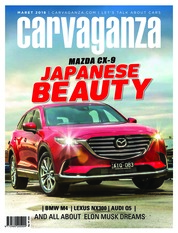 Carvaganza Magazine Cover March 2018