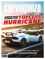 Carvaganza Magazine Cover April 2018
