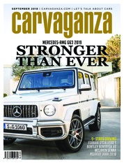 Carvaganza Magazine Cover September 2018