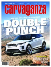 Carvaganza Magazine Cover December 2018