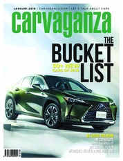 Carvaganza Magazine Cover January 2019