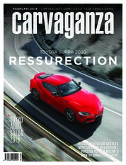 Carvaganza Magazine Cover February 2019