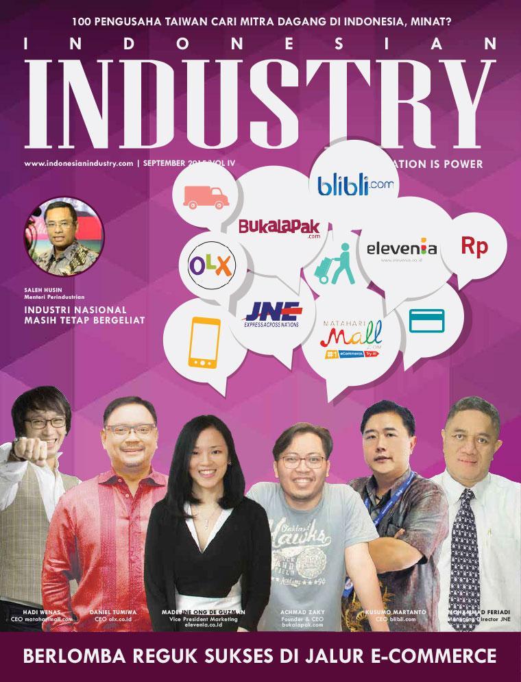 Majalah Digital INDONESIAN INDUSTRY September 2015