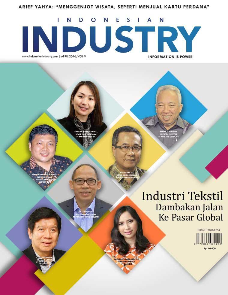 Majalah Digital INDONESIAN INDUSTRY April 2016