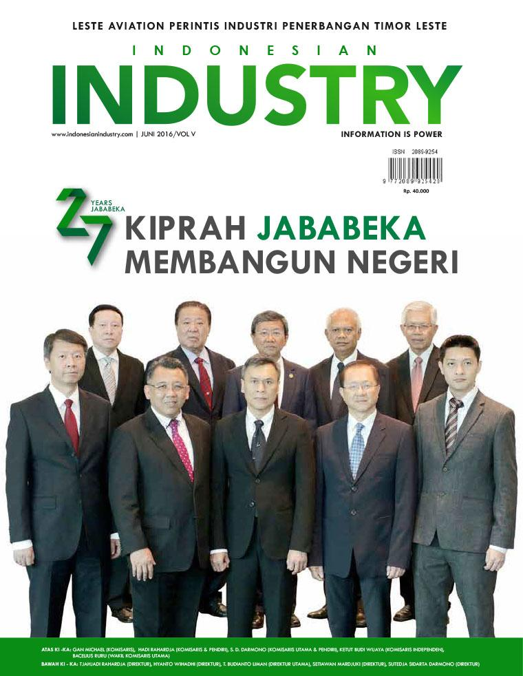 Majalah Digital INDONESIAN INDUSTRY Juni 2016