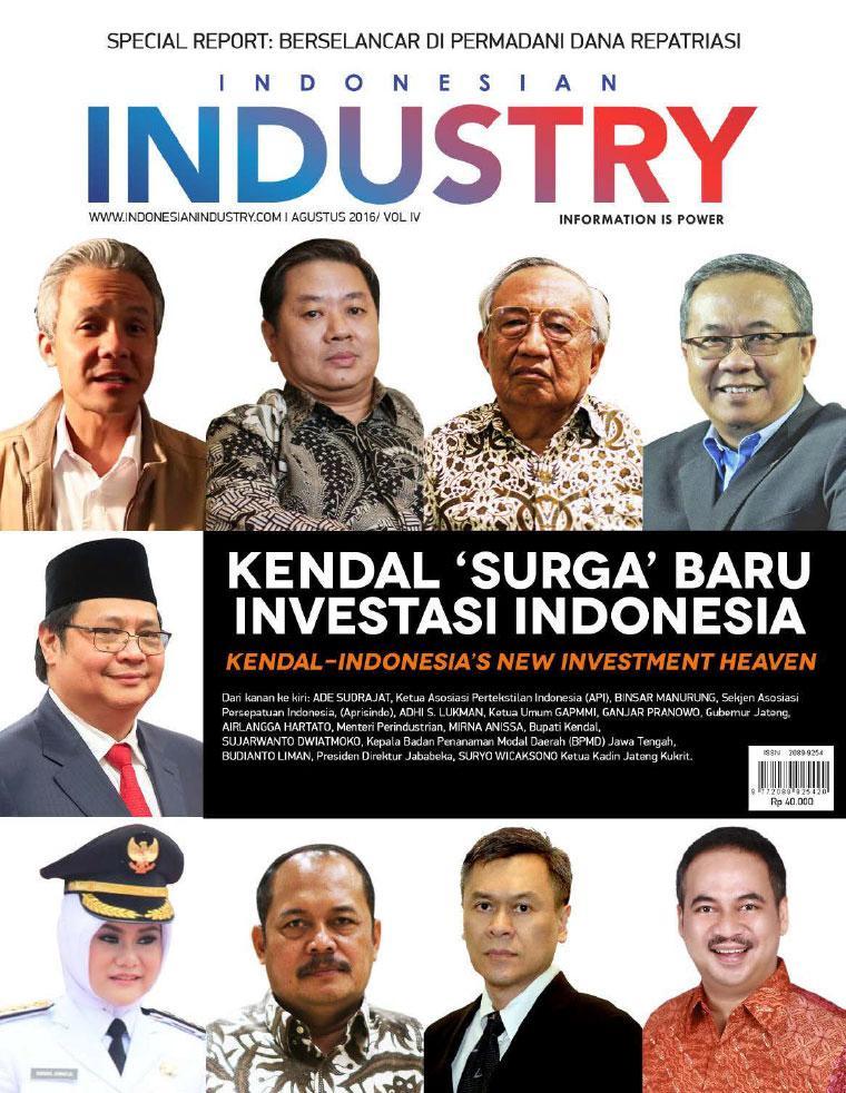 Majalah Digital INDONESIAN INDUSTRY Agustus 2016