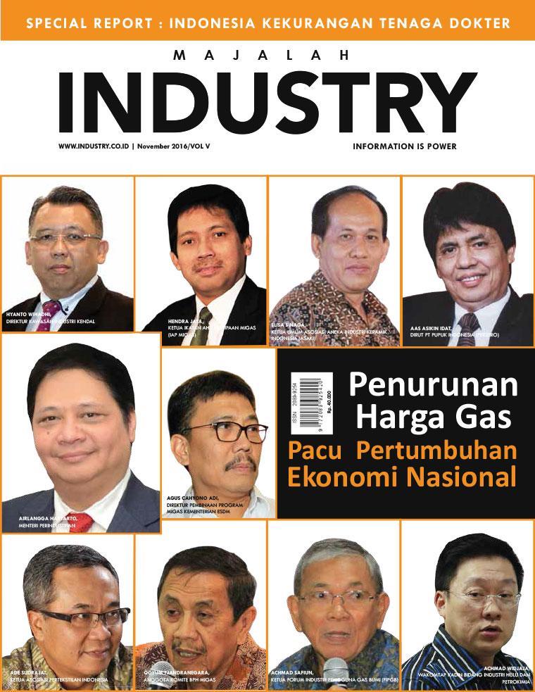 Majalah Digital INDONESIAN INDUSTRY November 2016