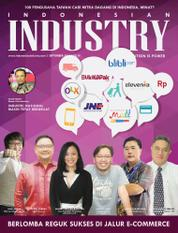 Cover Majalah INDONESIAN INDUSTRY September 2015