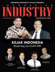 Cover Majalah INDONESIAN INDUSTRY Desember 2015