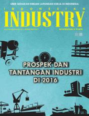 Cover Majalah INDONESIAN INDUSTRY Januari 2016