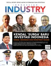 INDONESIAN INDUSTRY Magazine Cover August 2016