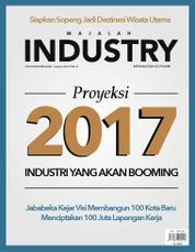Cover Majalah INDONESIAN INDUSTRY Januari 2017