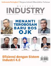 Cover Majalah INDONESIAN INDUSTRY Juni 2017