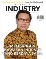 Cover Majalah INDONESIAN INDUSTRY Juli 2017