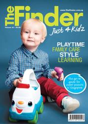 Cover Majalah The Finder Just 4 Kidz / JUL2015 Juli 2015