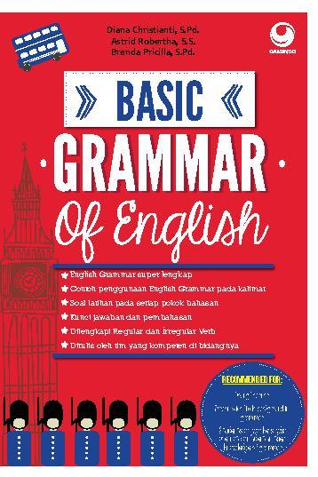 basics of english grammar These owl resources will help you use correct grammar in your //owlenglishpurdueedu/) this resource provides basic guidelines of.