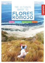 PANORAMA Booklet Magazine Cover The Ultimate Guide to Flores Komodo