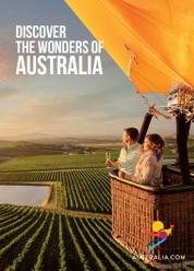 PANORAMA Booklet Magazine Cover Discover The Wonder of Australia