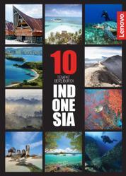 PANORAMA Booklet Magazine Cover 10 Tempat Berlibur di Indonesia