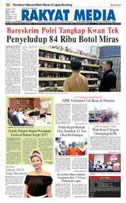RAKYAT MEDIA Cover 25 September 2017