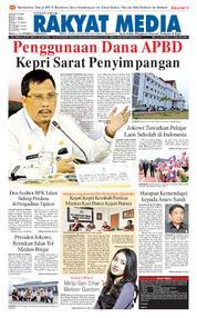 RAKYAT MEDIA Cover 16 October 2017