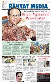 RAKYAT MEDIA Cover 25 November 2017