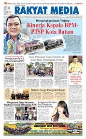 RAKYAT MEDIA Cover 14 January 2018