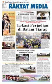RAKYAT MEDIA Cover 24 January 2018