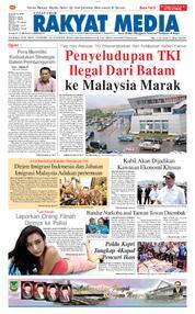 RAKYAT MEDIA Cover 25 March 2018