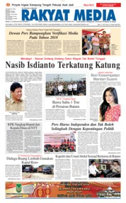 RAKYAT MEDIA Cover 13 February 2018