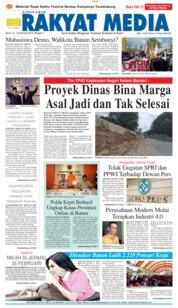 RAKYAT MEDIA Cover 22 February 2019