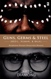 Guns, Germs, & Steel by Jared Diamond Cover