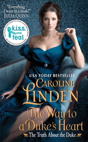 The Way to a Duke's Heart by Caroline Linden Cover